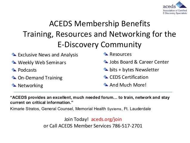 Slides from ACEDS-Xact Data Discovery 5-7-14 Webcast