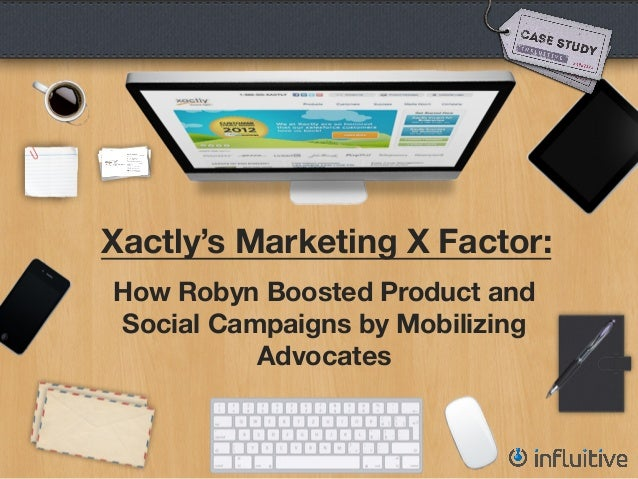 Xactly's Marketing X Factor:How Robyn Boosted Product andSocial Campaigns by MobilizingAdvocates