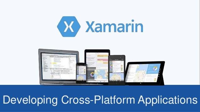 Developing Cross-Platform Applications