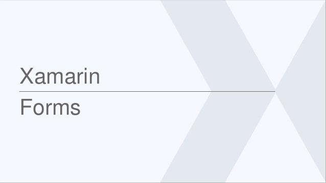 Xamarin Forms