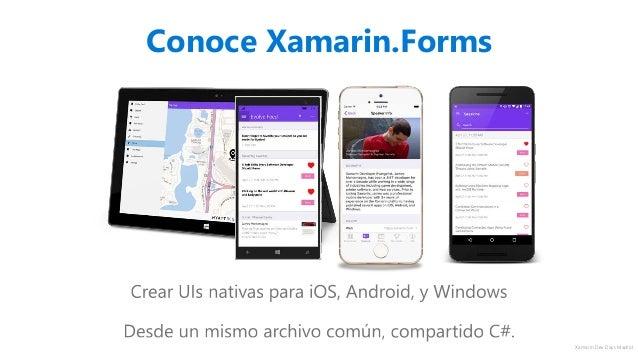 Xamarin Dev Days Madrid - Xamarin.Forms