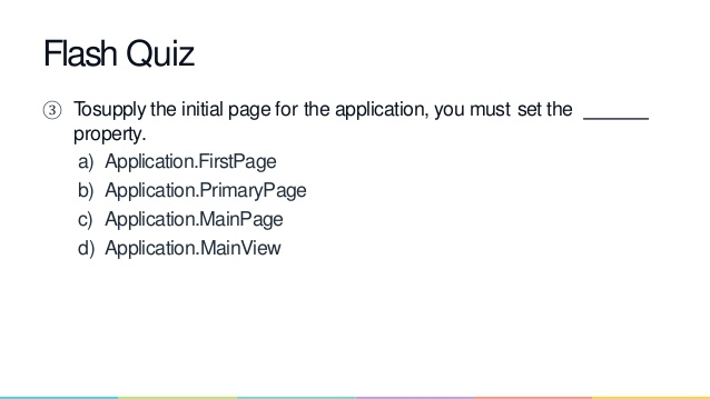 Top Five Quiz App In Xamarin Forms - Circus