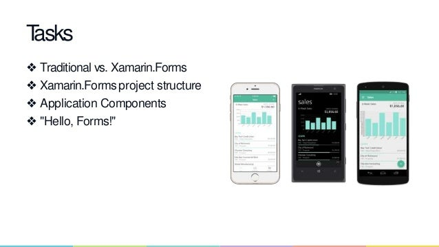 Xamarin Forms a different approach to cross platform natove mobile de…