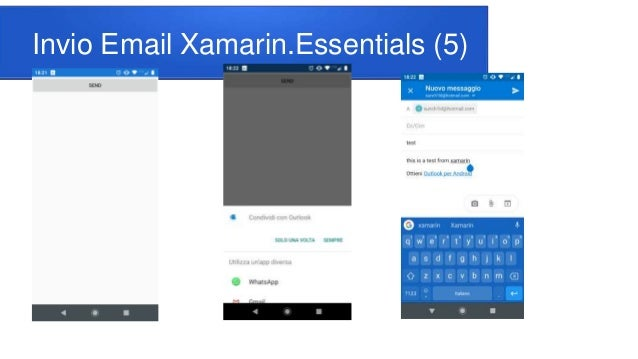 Invio Email Xamarin.Essentials (5)