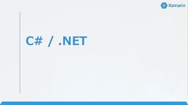 C# / .NET