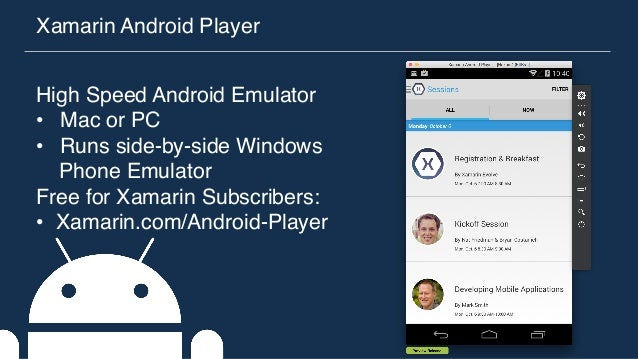 Dallas Android - Android & iOS Development in C# with Xamarin