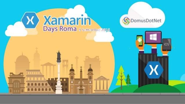 Xamarin Test Cloud Massimo Bonanni Sr. Consultant- EMEA Modern App Domain massimo.bonanni@microsoft.com @massimobonanni