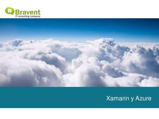 Xamarin y Azure