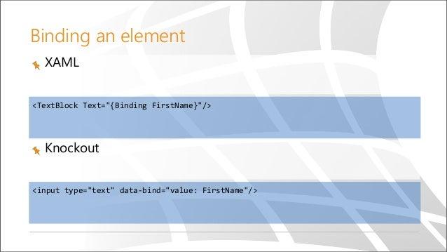 XAML/C# to HTML5/JS