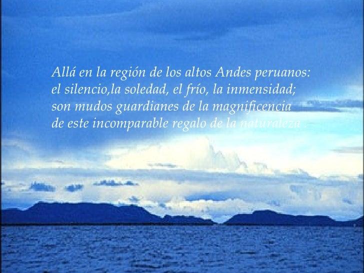 X Am Lago Titicaca Slide 2