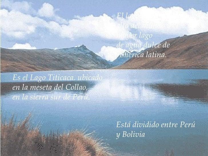X Am Lago Titicaca Slide 3