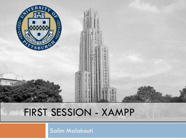 FIRST SESSION - XAMPP Salim Malakouti