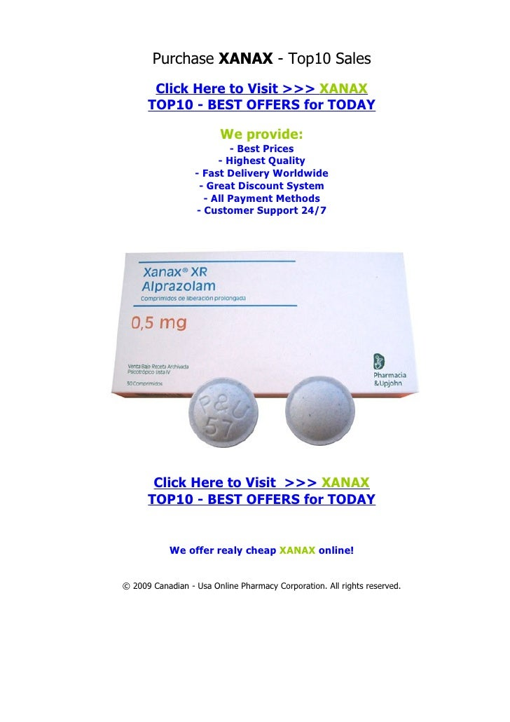 Purchase XANAX - Top10 Sales        Click Here to Visit >>> XANAX       TOP10 - BEST OFFERS for TODAY                     ...