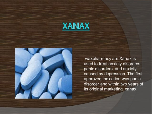xanax used to treat vertigo symptoms