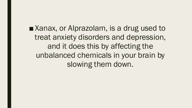 is it legal to order xanax online