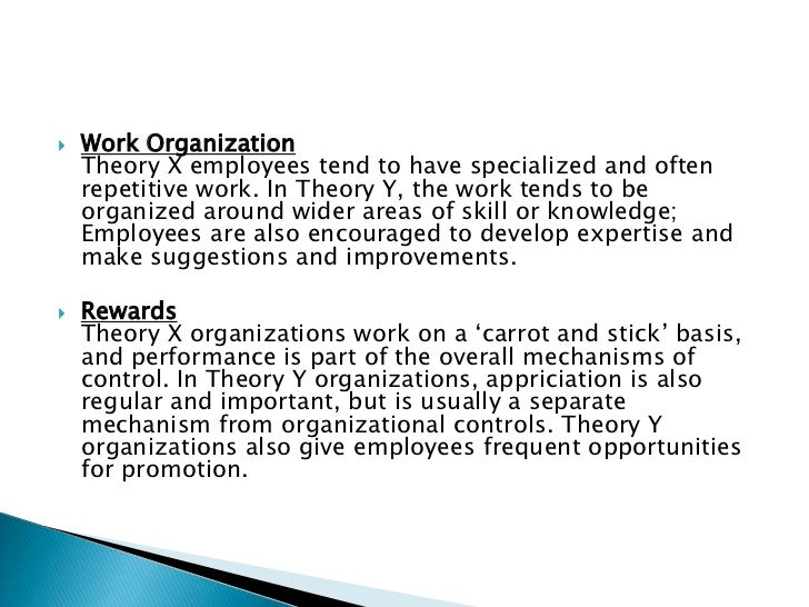 how would a theory x manager view employees