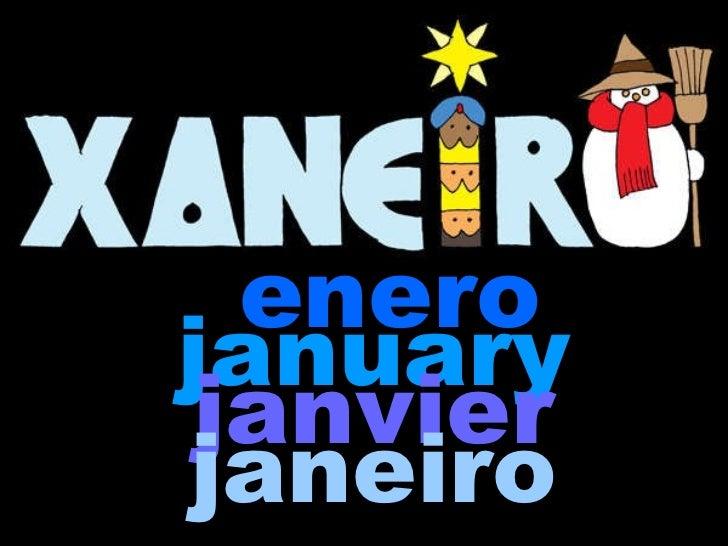 enero january   janvier   janeiro