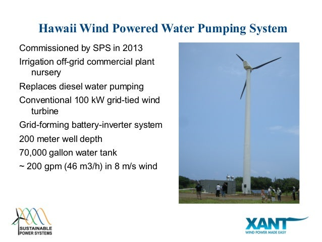 xant sps windwell wind powered water pumping for africa and the midd