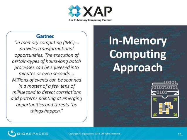 E-Commerce and In-Memory Computing: Crossing the Scalability Chasm