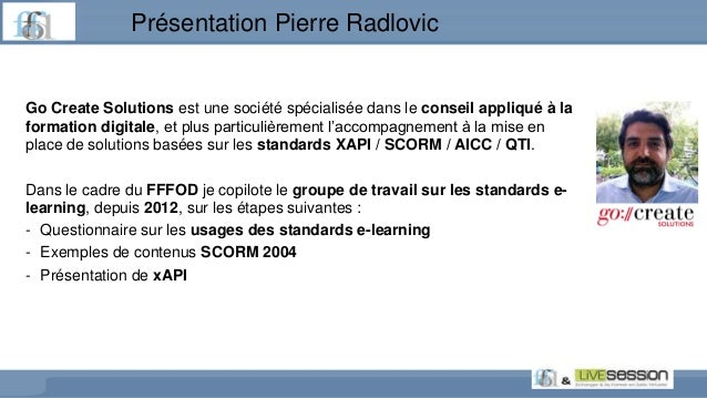xAPIi, le standard de l'après-SCORM - 13R Slide 2