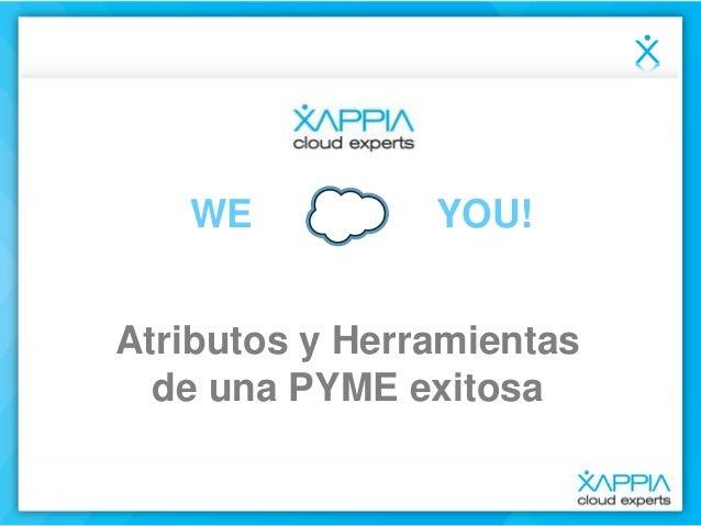 WE YOU! Atributos y Herramientas de una PYME exitosa