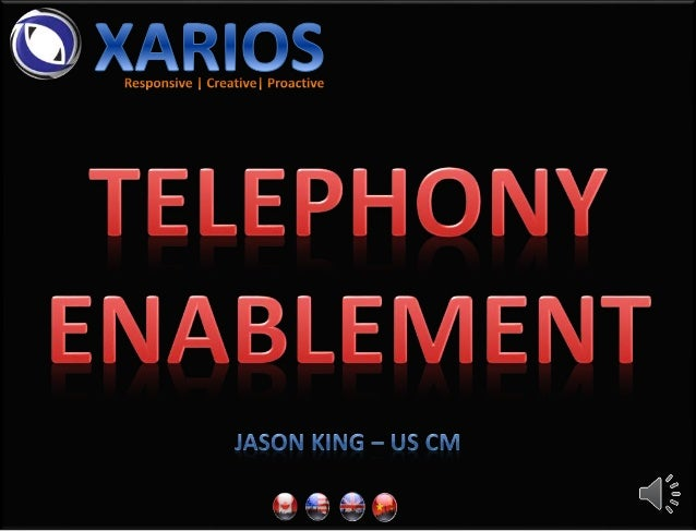 Desktop Telephony Automation At Your Finger Tips CRM Telephony Automation Made Easy Core Component Of All Xarios Modules V...
