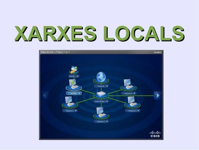 XARXES LOCALSXARXES LOCALS