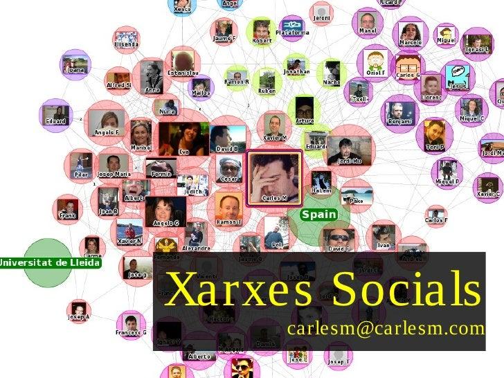 Xarxes Socials      carlesm@carlesm.com