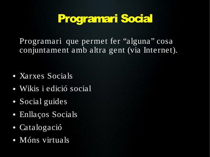 Xarxes Socials Slide 3