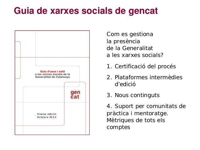 Xarxes socials per atendre la ciutadania. Jordi Graells Slide 3