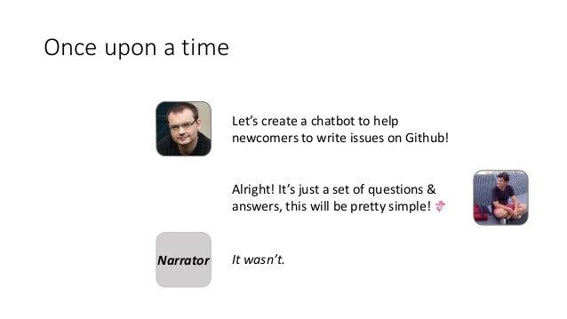Création facile de chatbots - Créez votre chatbot en 20 minutes avec une plateforme de développement low-code et Open Source Slide 2