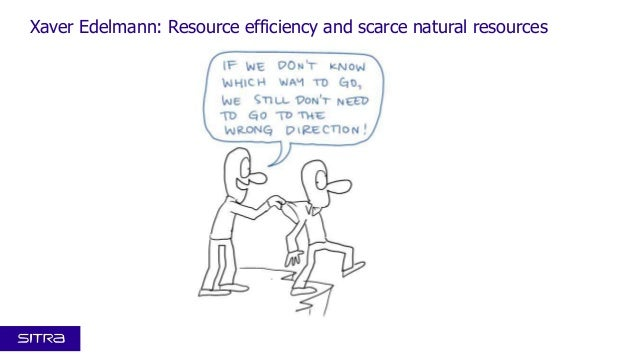 Xaver Edelmann: Resource efficiency and scarce natural resources