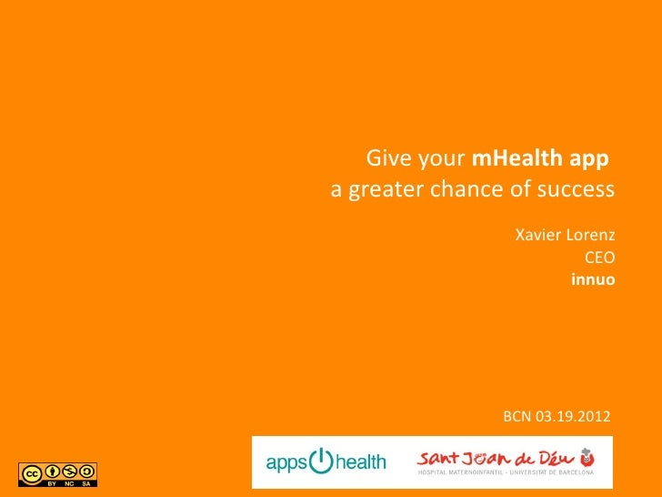 Give your mHealth appa greater chance of success                 Xavier Lorenz                           CEO              ...