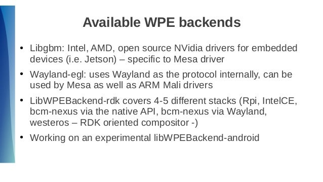 Wayland Support in Open Source Browsers (18th GENIVI AMM)