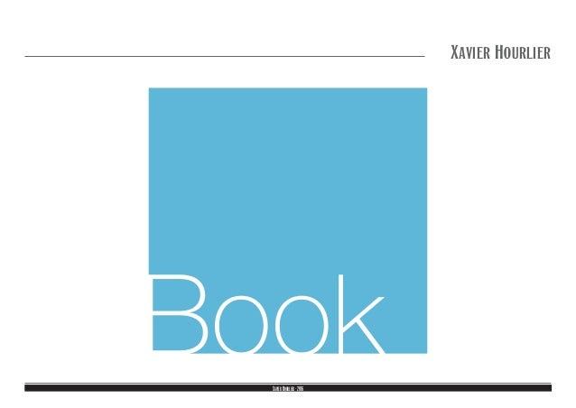 XavierHourlier-2016 Xavier Hourlier Book