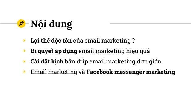 Xây dựng cỗ máy bán hàng tự động bằng drip email marketing Slide 2