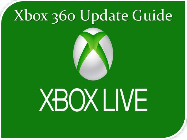 instructions for updating xbox 360