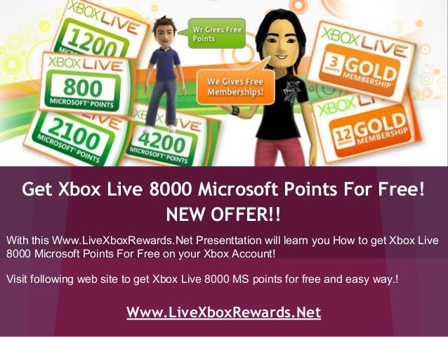 xbox live codes giveaway 2019 xbox live 8000 ms points redeem codes free giveaway 8364