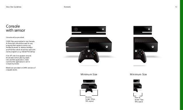 Manual de Construcción de Marca de Xbox One