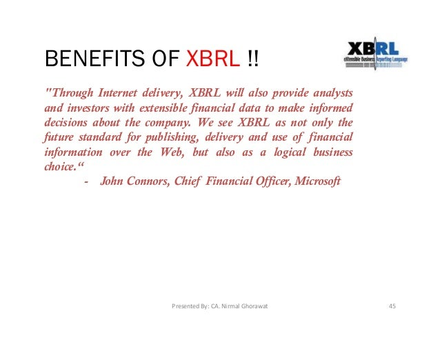 the use of xbrl in communicating information between corporations and investors analysts regulators  The use of xbrl in communicating information between corporations and investors, analysts, regulators, and stakeholders.