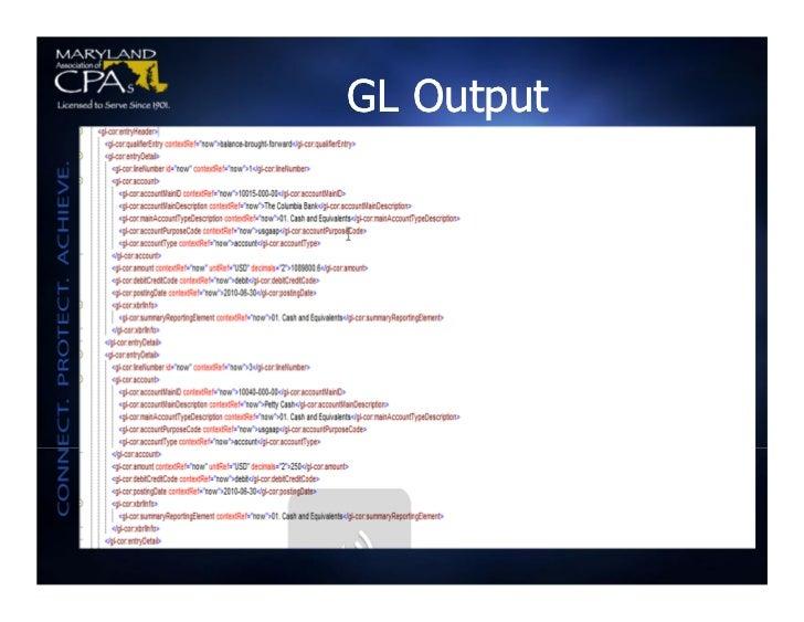GL Output