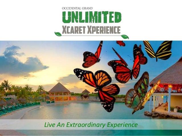 Live An Extraordinary Experience
