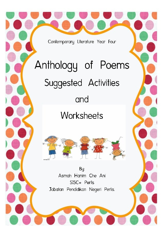 anthology of poems These are, as the title of the anthology suggests, poems that induce that most overwhelming of responses – poems that cause us to shed a tear there are some great choices here, among them poems by w h auden , thomas hardy , and a e housman.