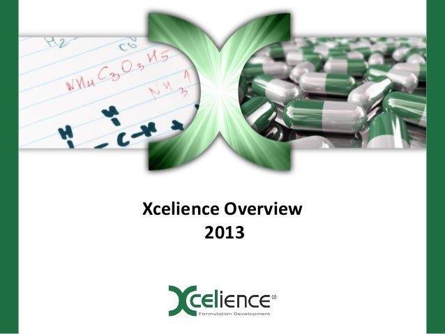 Xcelience Overview       2013