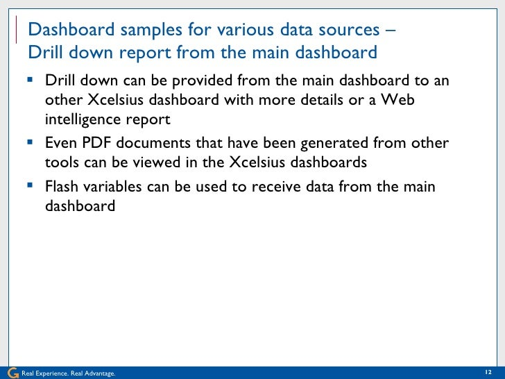 Xcelsius tips and tricks for your enterprise dashboard 12 gumiabroncs Image collections