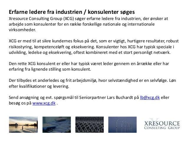 dd4f63b18ea Erfarne ledere fra industrien / konsulenter søges Xresource Consulting  Group (XCG) søger erfarne ledere
