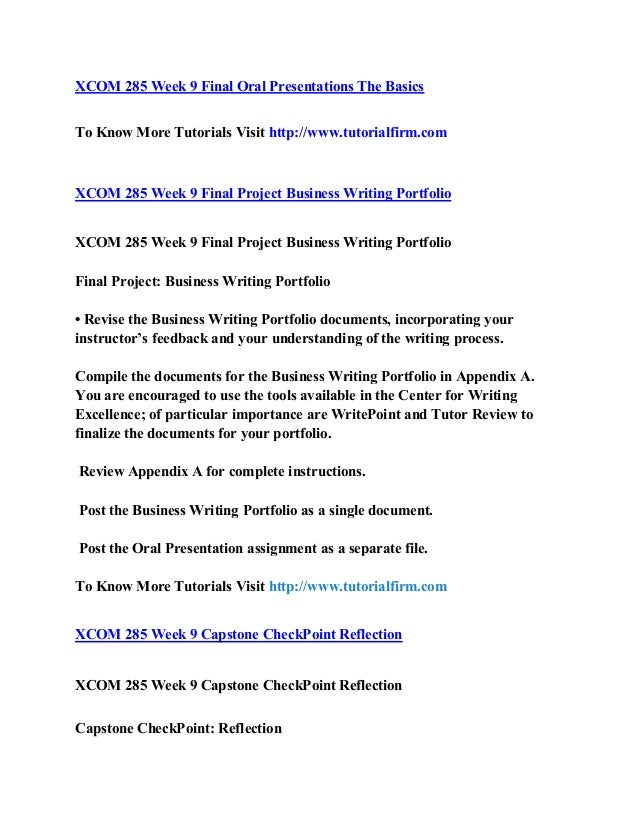UNV 103 Week 9 Writing Self-Assessment Reflection