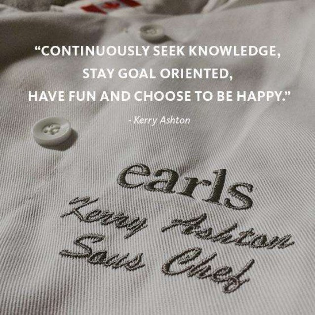 Earls Kitchen + Bar -  What do you want to make time for in 2016?
