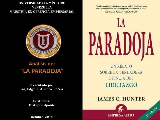 UNIVERSIDAD FERMÍN TORO  VENEZUELA  MAESTRÍA EN GERENCIA EMPRESARIAL  Presentado por:  Ing. Edgar E. Alfonzo L. 15-A  Faci...