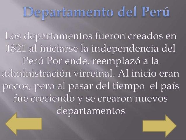 Es un departamento del Perú situado en la parte central y occidental del país . Limita con el océano Pacífico al oeste, al...